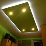 LED podsvietený strop